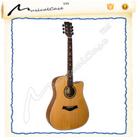 Global wooden copy guitar