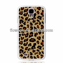 FL2415 2013 Guangzhou hot selling leopard print hard back cover case for samsung galaxy s4 i9500