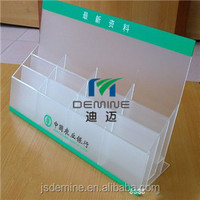 Polycarbonate adhesive stand holder for pens and documents