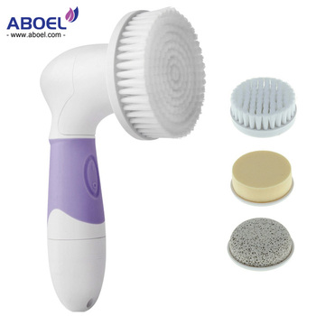 Multi-Function Beauty Equipment Type FDA Approved Electric Waterproof Facial Cleansing Brush