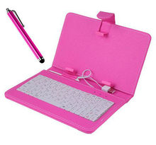 Universal Keyboard Leather Case for 10.1 inch 9.7 inch 8 inch 7 inch Tablet PC USB/mini USB/Micrio USB