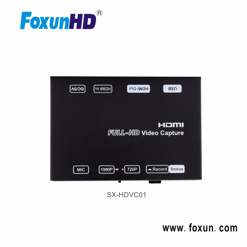 Foxun Full HD 1080P Mini Video Game Capture H.264 encoder
