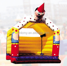 commercial small indoor inflatable crown jumping castle for sale