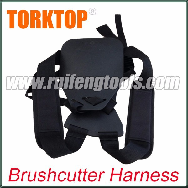 Safety harness for brush cutter