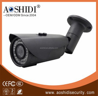 Shenzhen factory black Outdoor 1.0MP/1.3MP/2MP cctv camera IP