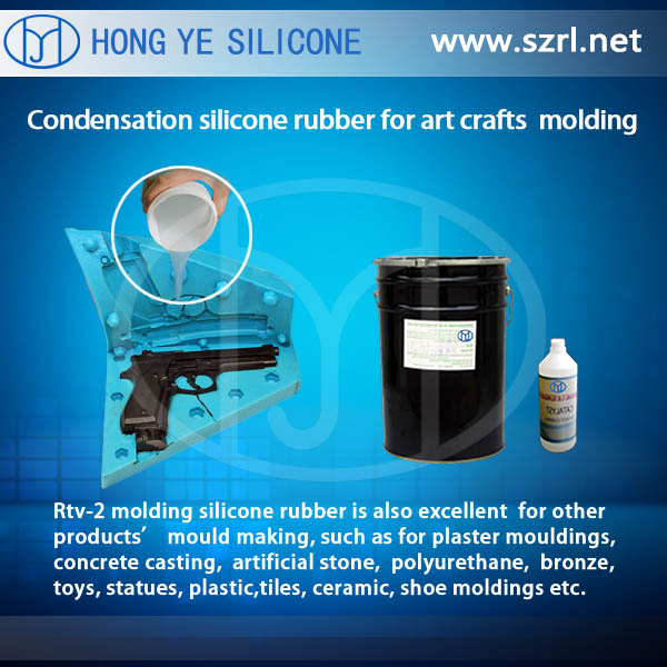 RTV silicone for resin casting and resin crafts molds making