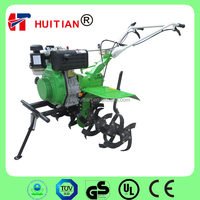 HT105F 6HP Diesel Engine Green Mini Power Tiller
