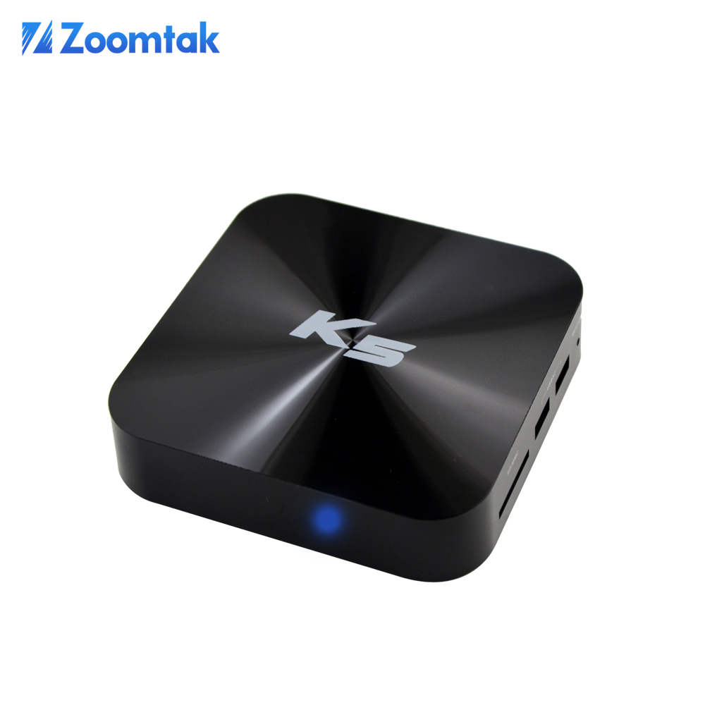 Zoomtak K5 Quad Core Amlogic s805 Android 4.4 OS UHD 4K Global IPTV Box