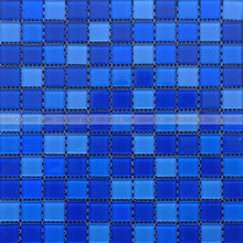 Ebro Ceramic most popular beautiful crystal glass mosaics for swimming pool tiles