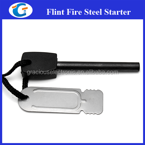 emergency firesteel flint firestarters camping product