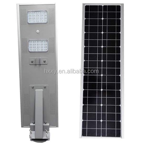 2016 Hot Sale Outdoot Light 40w Solar LED Street Light Motion Sensor Integrated Solar Street Light