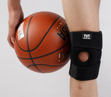 Protector Man Lifting 3d sports knee pad Xxl Mava Sport Knee Support Sleeve brace with open wrap