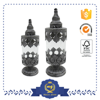 Moroccan Glass Candle Holder Home Decoration Accessories
