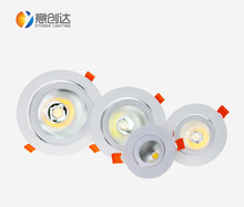 Foshan LED Lighting Recessed 8w Downlight LED AC85-265V With CE RoHS Certification