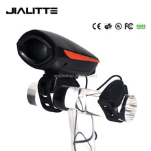 Jialitte B035 Bike Horn 140 Decibels Super Loud Electronic Bicycle Bell by 3xAAA Battery