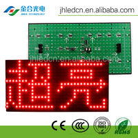 Hot sale waterproof p10 outdoor indoor single red/yellow/green/white/blue led display modules