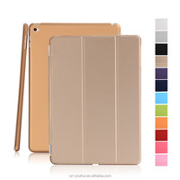 Wholesale Colorful Smart PC+PU Leather Case Flip Cover for iPad mini 4 Housing