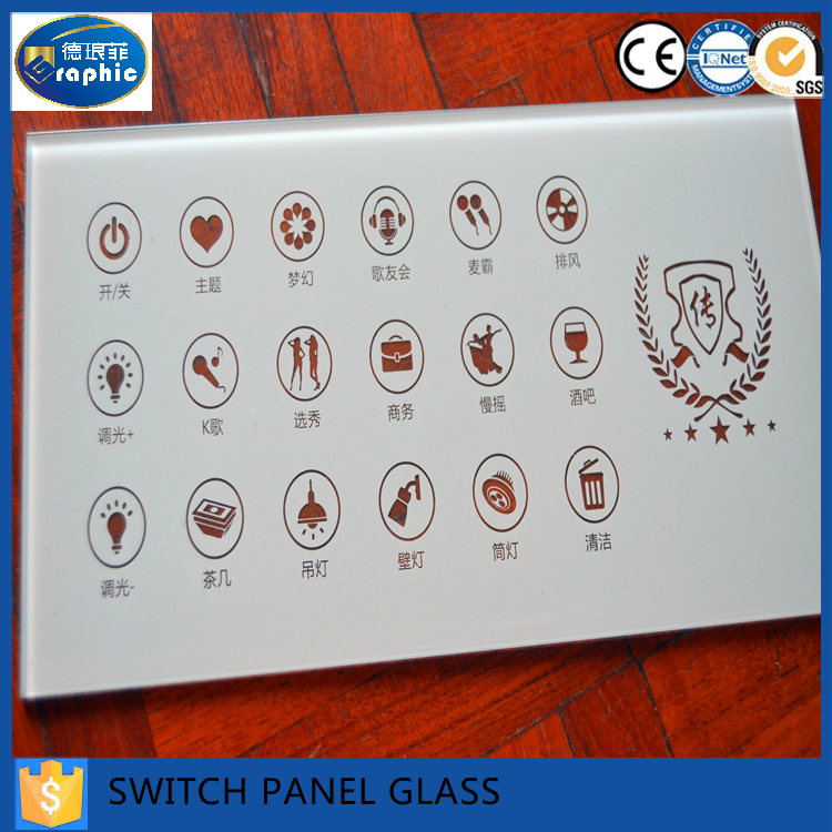 Uk standard switchable smart glass panel switch for sale