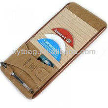 High-end hot sale real leather car CD cases/holder