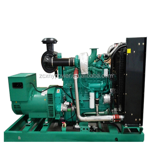 High voltage low fuel consumption 50kw natural gas generator 220v