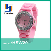 Newest online wholesale watch girl wrist watch 3ATM waterproof