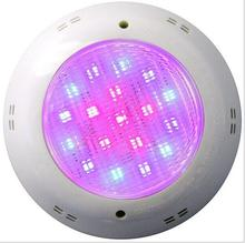 LED pool light 15w 252leds AC 12V IP68 surface mounted rgb led pool light 12V led underwater light swimming pools