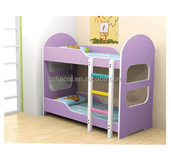 Double Deck Beds For Kids hl-09203 kids double deck bed,kids bunk bed,up-down kids bed with