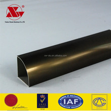 hollow profile standard extrusion profile ionized aluminum