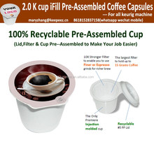Wholesale keurig 2.0 k cup coffee capsules
