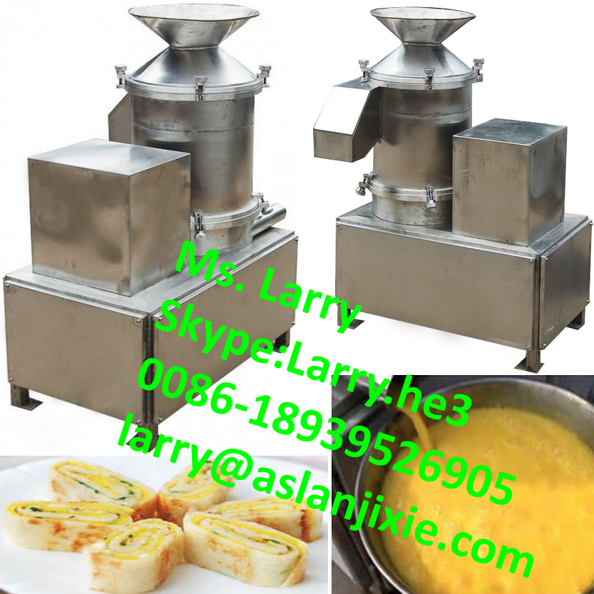 Eggshell egg liquid separator/egg breaking machine/fresh egg deshelling machine