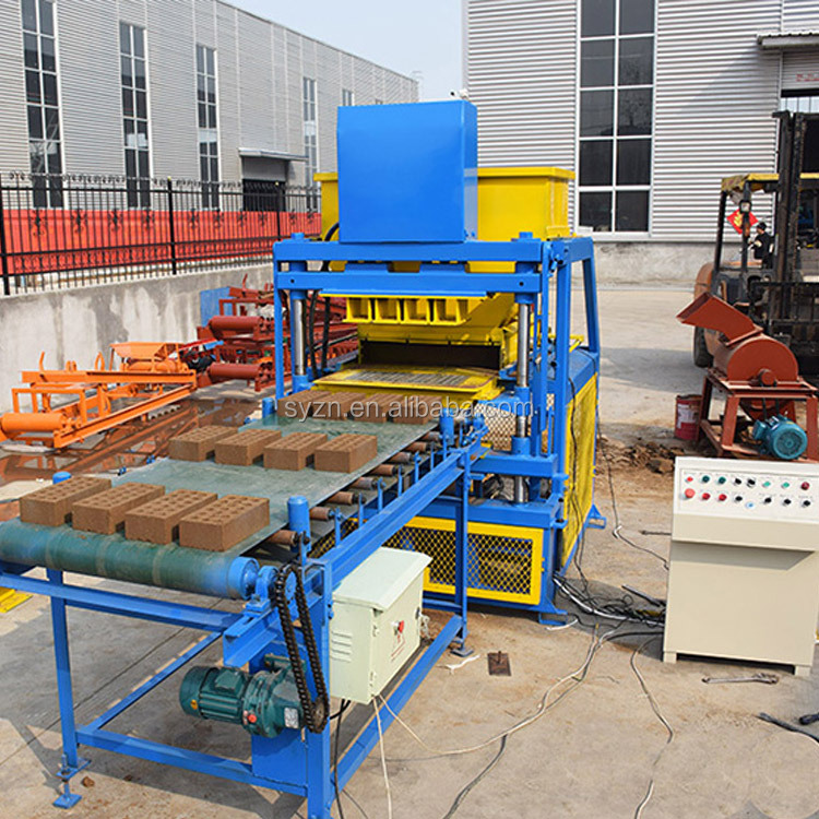 LY4-10 fully automatic clay brick making machine ecological bricks machine price