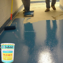 Acid and alkali resistant solvent-type anti-static epoxy floor paint