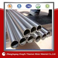 industry and chemical used astm b338 gr.2 titanium tube