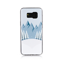 3d sublimation ultra thin tpu phone case For for Samsung galaxy S8 plus