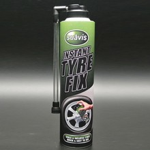 tyre liquid aerosol spray sealant Circular patch 450ml