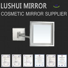 hotel magniying wall cosmetic magnifying LED wall wholesale cosmetics in usa