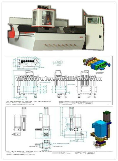 timber processing center which is multi functional cnc router kit
