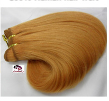 Wholesale Human Hair Weave, cheap brazilian remy human hair weave bundles #16 Dark Honey Blonde