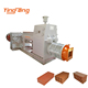 JKR35 Fully Automatic Fire Clay Brick Manufacturing Making Machines Process In India