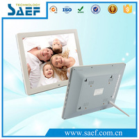 12.1 Inch LED Screen Digital Photo Frame 1024*768 dots lcd advertising display support video/audio/picture/e-book frame
