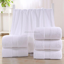 Wholesale Monogram Embroidered Soft Cotton White Bath Towel