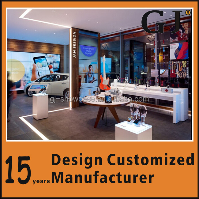 2014 nice design prefabricated store mobile store design With Display Furniture