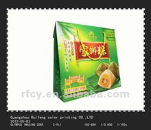 colorful paper packaging bags for traditional Chinese rice-pudding