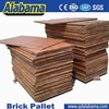 most popular design with reasonable price compressed wood pallet