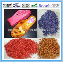 high quality crystal PVC compound granules for shoes plastic manufacturer factory