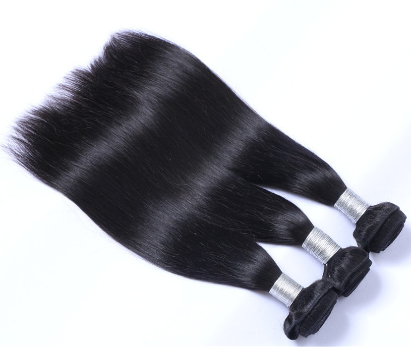 indian human hair,unprocessed natural straight hair extension for wholesales