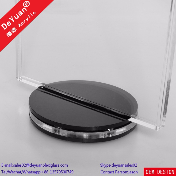 Mini Menu Card Holder Rotating