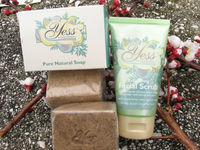 black african soap with natural shea butter