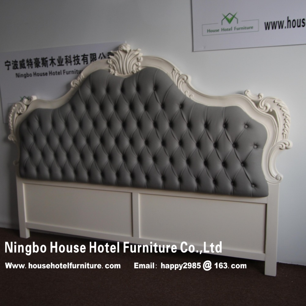 HS0028A French style bed head headboard hotel furniture