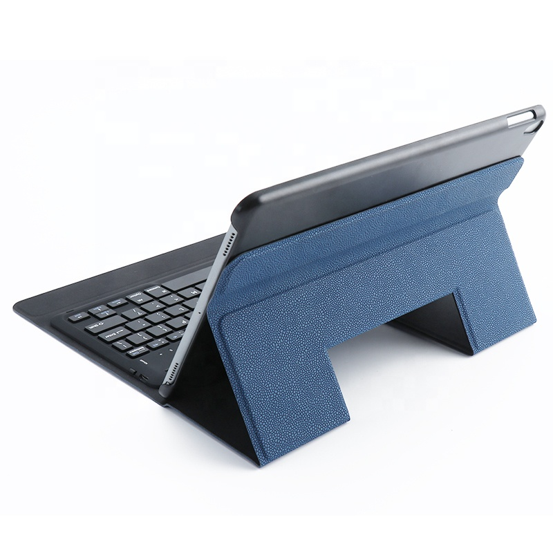 New Design Keyboard Leather Cover for <strong>ipad</strong> 9.7'' and 10.1'' with Wireless Connect Stand Function